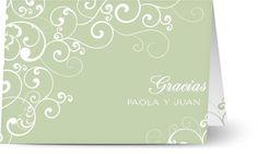 Tarjetas de agradecimiento de boda con fotos de tu gran día y mensaje personal - Optimalprint España