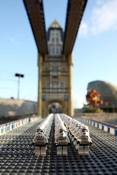 Storm Troopers on London Bridge #starwars #stormtroopers #lego
