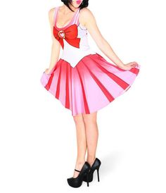 Qickitout Dress 2015 Summer Dresses Women Clothing Sailor Moon Style Cosplay…