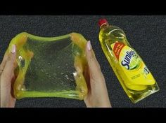 HOW TO MAKE CRYSTAL CLEAR SLIME , LIQUID GLASS THINKING PUTTY - Elieoops - YouTube
