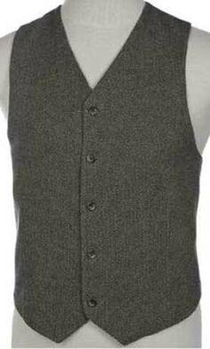 men's wool vests for sale   Mens Dark Brown Beige Wool Cashmere Vest : Vests by Charlotte, Vested ...