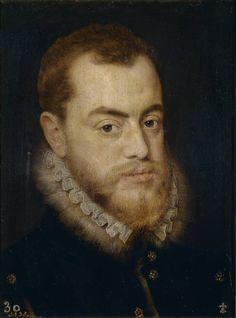 Lucas de Heere (Atribuido a). Felipe II