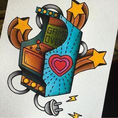 Diseño disponible / available design de @ana.almagro.roman. Para citas / for bookings info@goldstreetbcn.com #tattoo #goldstreettattoo #barcelona