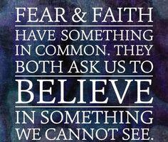 FEAR & FAITH