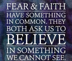 FEAR & FAITH