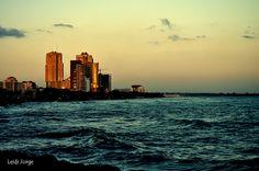 At Santo Domingo shore Christmas eve., via Flickr. By Leidi Jorge.
