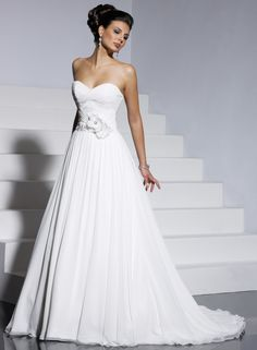 a-line-strapless-sweetheart-wedding-dress