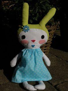 WIEN-ART FABRICS: Knuffel konijn