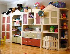 Nursery Notations: Toy Storage