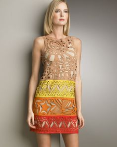 Papel Picado dress  - for more on Mexico visit www.mainlymexican.com # Mexico #Mexican #fashion