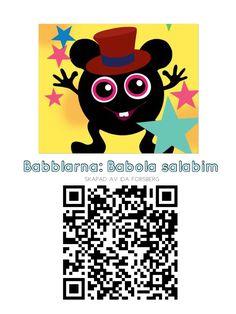 QR koder Babblarna Appar, Science And Technology, Mathematics, Preschool, Language, Teaching, Education, Inspiration, School