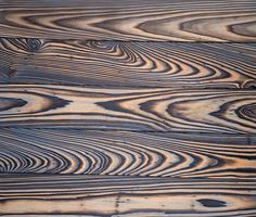 Delta Millworks'  Cypress Tiger Smooth Gettysburg. Burned then brushed with a smooth brush in the Detla Millworks method