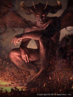 The Original Devil by ~secretscience on deviantART