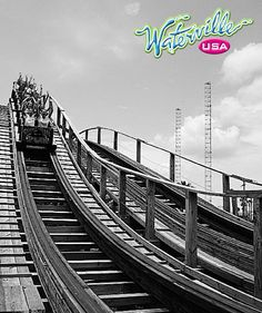 Are you ready to RIDE? #WatervilleUSA #GulfShores #ThemeParks #RollerCoasters
