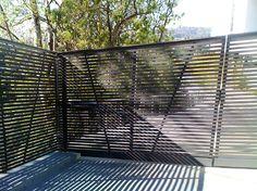 Stainless Steel Gate & Motor Hollywood Hills - modern - entry - los angeles - Vik Iron Designs