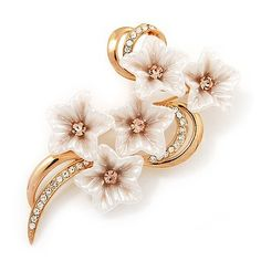 Exquisite Bridal Diamante Floral Brooch (Gold Plated Metal) Avalaya,http://www.amazon.com/dp/B005P05PS2/ref=cm_sw_r_pi_dp_RwTSrbB56F6F4CB3