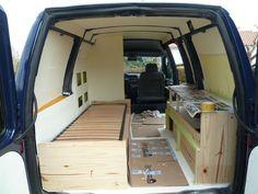 Camper Beds, Truck Bed Camper, Mini Camper, Bus Camper, Campervan Bed, Campervan Interior, Rv Interior, Minivan, Vw T5
