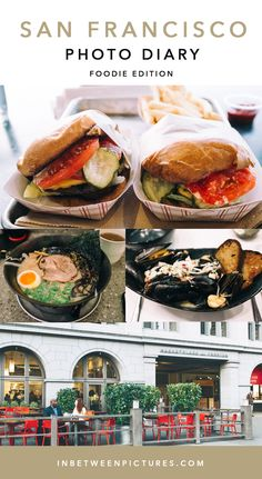 San Francisco Photo Diary | Where to eat in San Francisco | Restaurants in San Francisco | InBetweenPictures.com