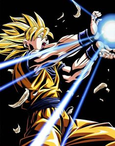 Goku does the Kamehameha : Dragon Ball Z. Dragon Ball Z, Dragon Z, Funny Dragon, Mangaka Anime, Kuroko, Boruto, D Mark, Sailor Moon, Animation