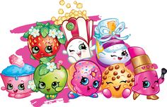 Shopkins Ideas: Shopkins Party Ideas and Printable Coloring pages Shopkins is a plaything or toy manufactured based on the grocery toys, where every Bolo Shopkins, Shopkins Bday, Cupcake Toppers, Birthday Cake Toppers, Birthday Cakes, Shopkins Colouring Pages, Coloring Pages, Coloring Books, Illustration Free