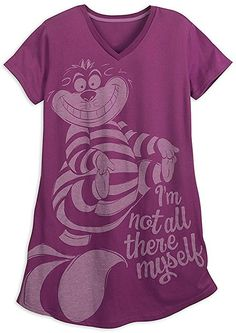f9cc05cc94 Amazon.com  Disney Cheshire Cat Nightshirt For Women Size 3XL  Clothing  Disney Pjs