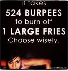 Holy hell! 524 burpees?! How about we do 5 and call it a day. . .