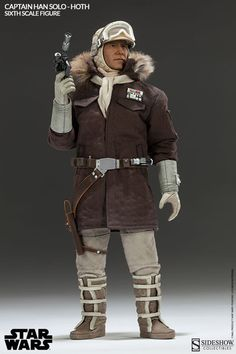 Star Wars figurine Captain Han Solo Hoth Sideshow Collectibles
