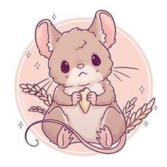 Field Mouse!  I think I just find all animals adorable  how are there so many cute animals in this world ✨ • #cute #kawaii #chibi #fieldmouse #mouse #mice #miceofinstagram #instaart #instaartist #instadaily #illustrationoftheday #illustration #digitalart #digitalpainting #doodle #drawing #art