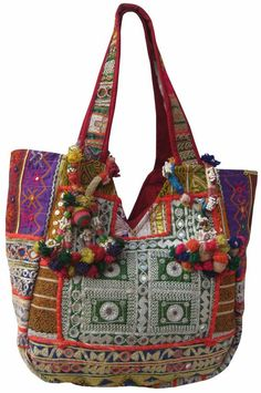 vinatge tribal gypsy banjara bags with ethnic by Manthancreation, $99.00