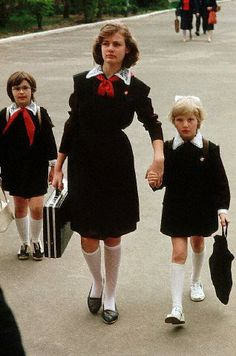 ussr,to school....