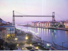 El Puente Colgante. Basque Country. Heritage of Humanity Monument.