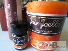 Aromatherapy Blessings {Joie Joelle Product Review & Giveaway} WIN a sample set of BE MINE scented products. Open worldwide and ends May 16, 2014.