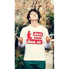 MY WAY ISLAM Dert Etme Dua Et İslami baskılı sweatshirt, İslami mesajlar veren Tişörtler T Shirt, Tops, Women, Fashion, Supreme T Shirt, Moda, Tee Shirt, Fashion Styles, Fashion Illustrations