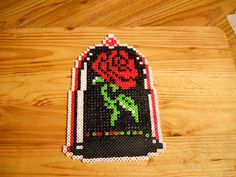 The Rose by fate82 on DeviantArt. Beauty and the Beast Disney perler