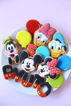 Disney characters cookie