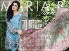 Maria B Lawn & Chiffon Eid Dresses 2016-17 Collection | StylesGap.com