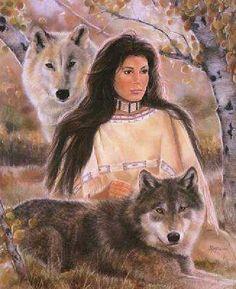 Native American Maija Art   Aspen Shadows by Maija   Native American Art