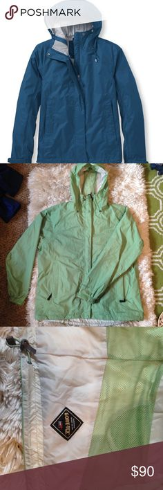 L.L Bean Gortex Rain Shell GORE-TEX quality • Guarantee to keep dry • Drawstrings • wrist adjustment straps• Long for coverage • Mesh liner to keep moisture out• Perfect condition!• L.L. Bean Jackets & Coats Utility Jackets