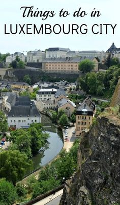 Planning a weekend in Luxembourg City? I went to try a bunch of fun things to do in Luxembourg City, all within walking distance of each other, and I've listed them here in this article for you. Check it out Oh The Places You'll Go, Cool Places To Visit, Places To Travel, Travel Destinations, Travel Trip, Travel Europe, European Vacation, European Travel, Places