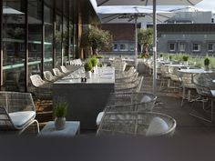 Angler Rooftop Terrace - South Place Hotel, London (walking dist from Tower)