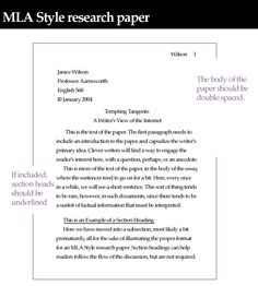 MLA Format Research Papers | MLA Research Paper (Daly) | What your ...