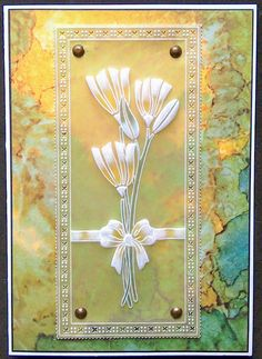 Groovi Plates with Clarity Indian Summer paper - by Lynne Lee Vellum Paper, Paper Art, Paper Crafts, Clarity Card, Parchment Design, Barbara Gray, Parchment Cards, Indian Summer, Hobbies And Crafts