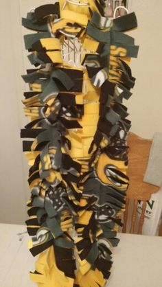 Green bay packer fleece scarf