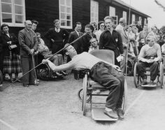 Paraplegics were depressed and discarded. Then one doctor had an idea: Let them play sports.