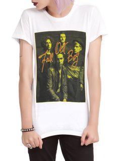 Fall Out Boy Photo Girls T-Shirt   Hot Topic