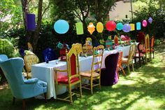 Alice in Wonderland Birthday Party Ideas | Photo 1 of 20 | Catch My Party