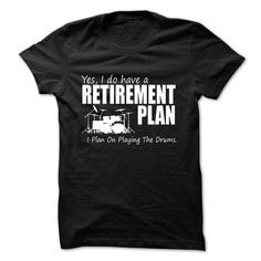 I PLAN ON PLAYING THE DRUMS T-Shirts & Hoodies Check more at https://teemom.com/music/plan-playing-drums.html