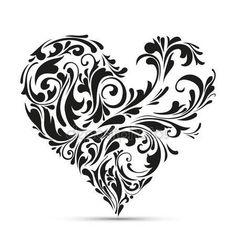 See Heart Art Prints at FreeArt. Get Up to 10 Free Heart Art Prints! Gallery-Quality Heart Art Prints Ship Same Day. Motif Vector, Vector Art, Eps Vector, Heart Clip Art, Heart Art, Motif Oriental, Geniale Tattoos, Marquesan Tattoos, Free Art Prints
