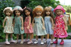 """A collection of 13"""" Little Darlings!"""