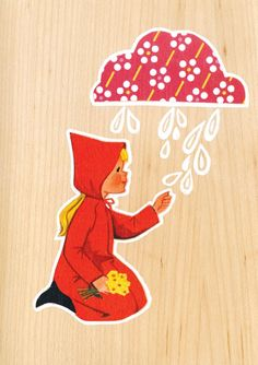 Girl and Rain Cloud